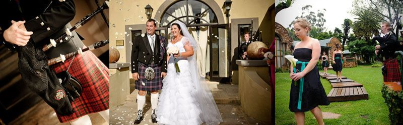 Bagpiper Hire for Weddings - SA Bagpiper