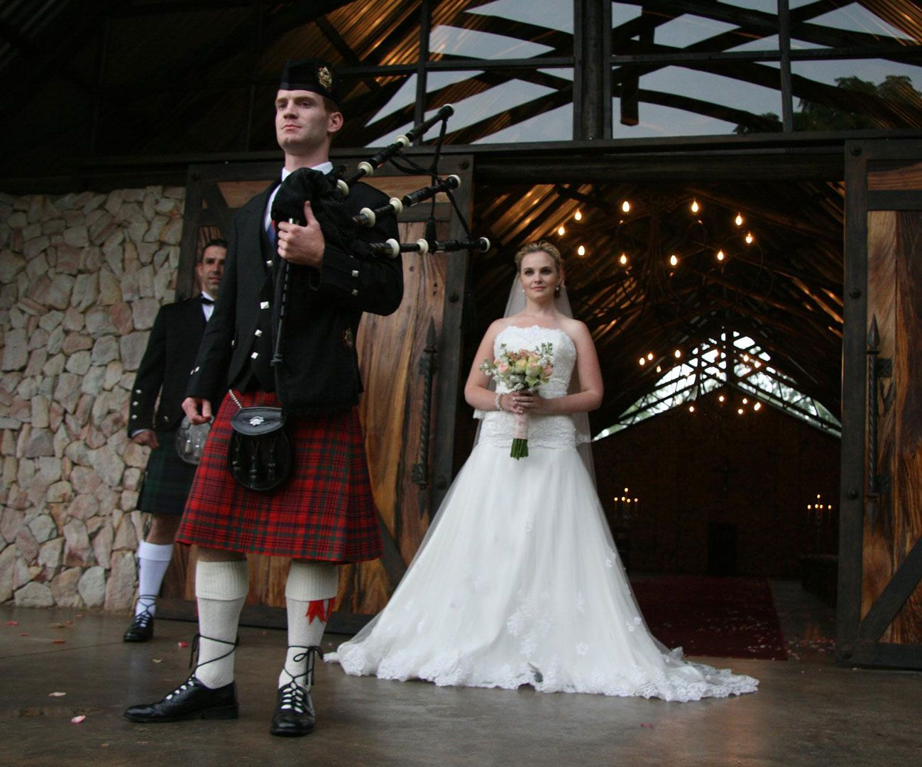Bagpiper for Hire weddings