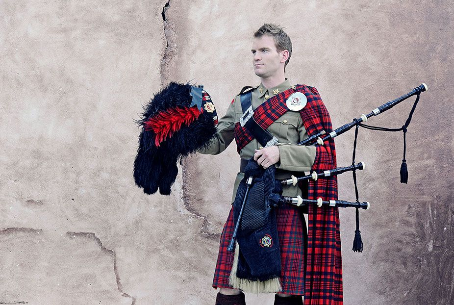 Scottish Bagpipes - Jonathan